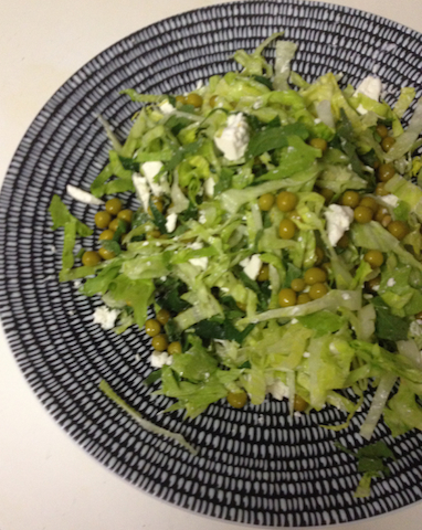 quick and easy green salad