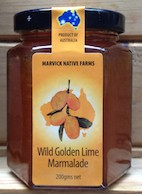 Wild golden lime marmalade