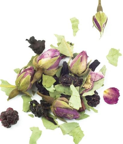 Strawberry Gum, Rose & Blackberry Tea