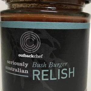Australian made Bush Burger Relish