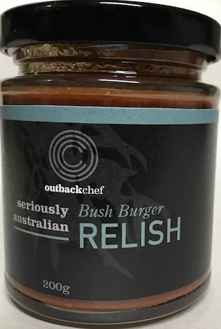 Australian made Bush Burger Relish